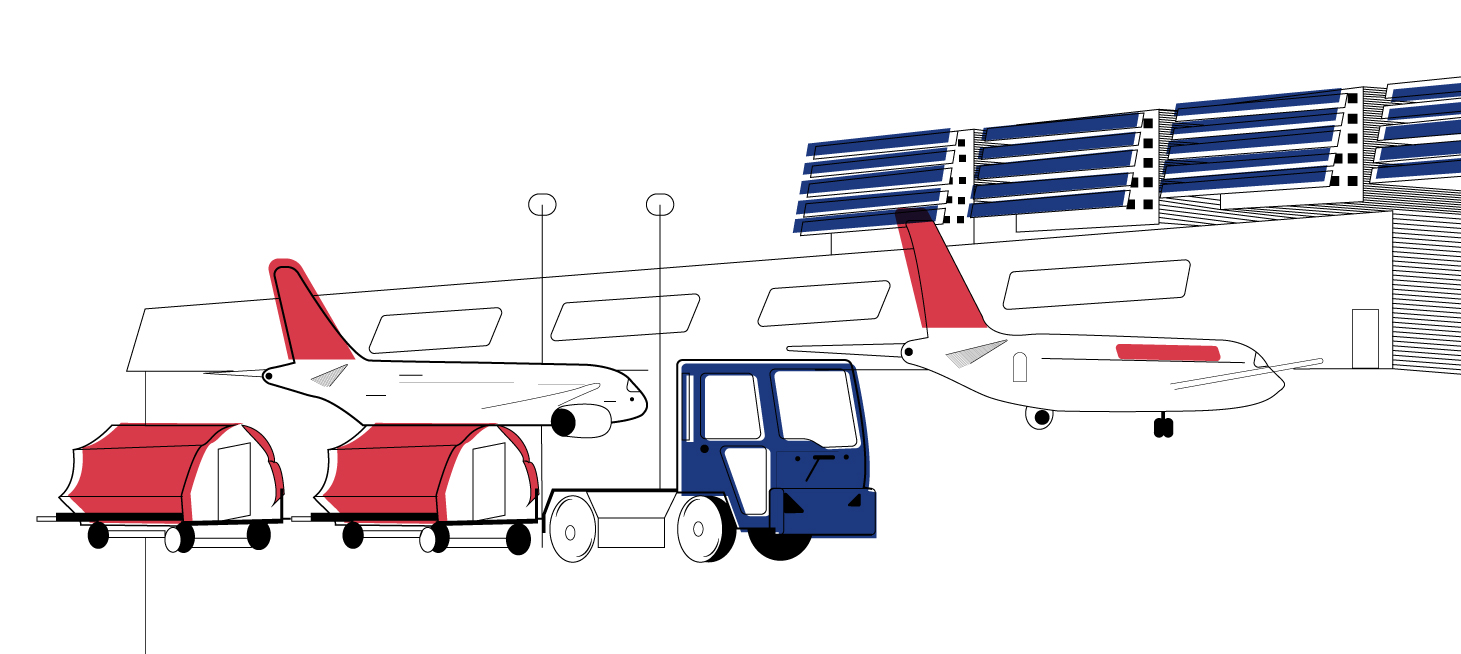 Sharing is Carrying Airlines Services